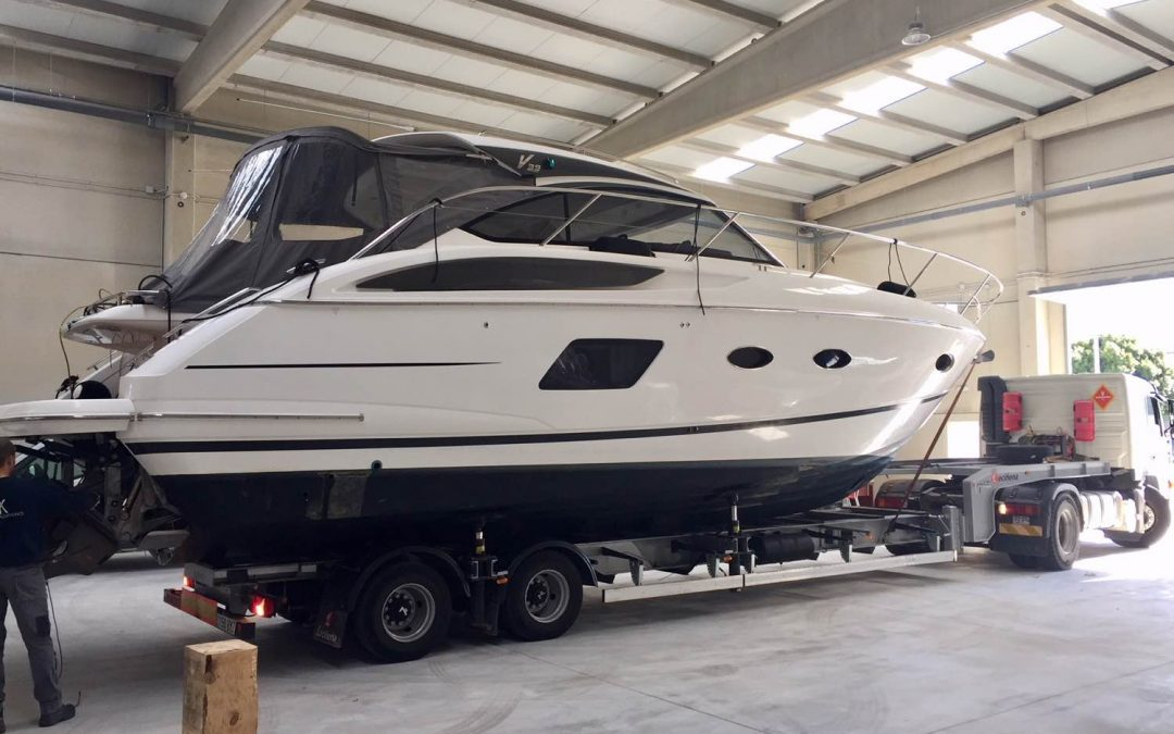 Winter Storage for boats and tenders in Mallorca
